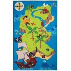 Gyerek szőnyeg kalózos 100 x 160 cm
