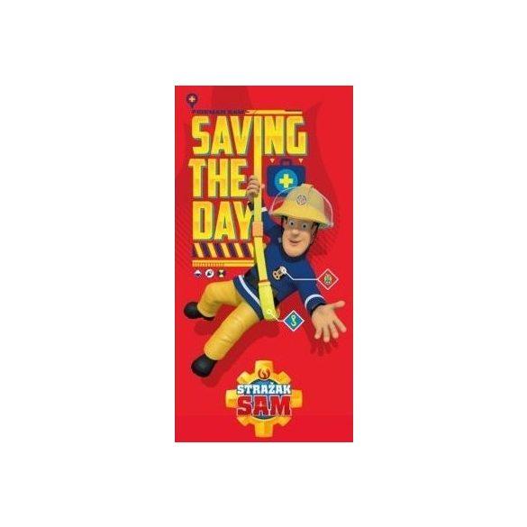 Fireman Sam  Sam a tűzoltó fürdőlepedő S2. - Motiváció Textil 5a4c368533