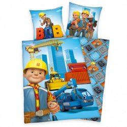 BOB MESTER ,BOB THE BUILDER ÁGYNEMŰHUZAT  2 RÉSZES PAMUT 140 x 200 + 70 x 90 CM
