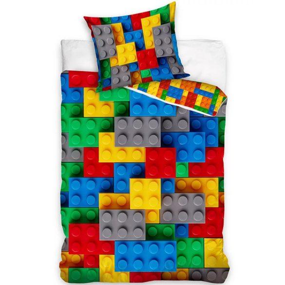 LEGO KOCKÁS ÁGYNEMŰHUZAT 140 x 200 CM + 70 x 90 CM