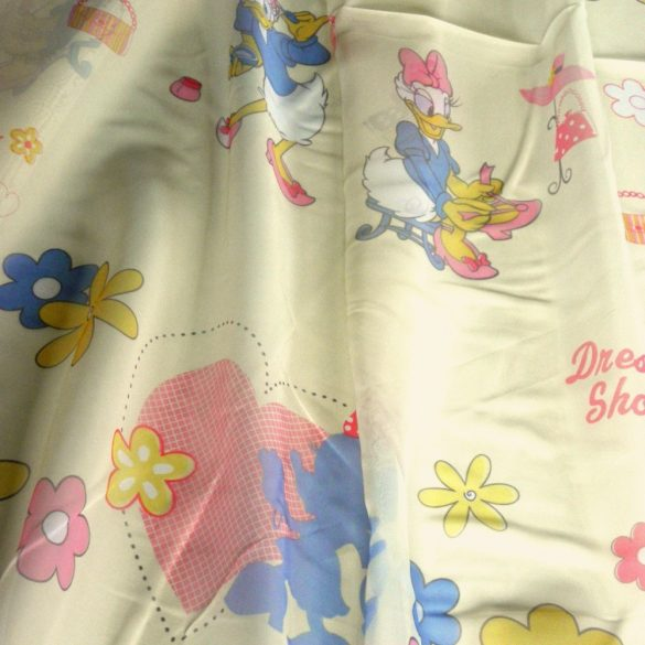 Daisy kacsa függöny, voile fényáteresztő függöny 290 cm magas ózs