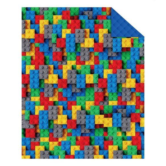 LEGO MINTÁS ÁGYTAKARÓ  170 X 210 CM