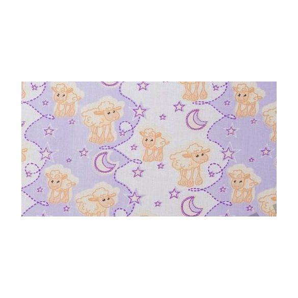 Gyerek bárányos pamutvászon