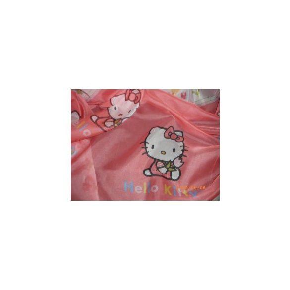 Hello Kitty függöny, voile fényáteresztő függöny 215  cm magas