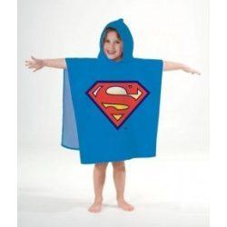 Superman poncsó, kapucnis törölköző
