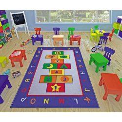 Gyerek szőnyeg ugróiskola 100 x 150 cm