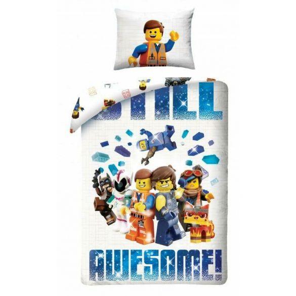 LEGO MOVIE ÁGYNEMŰHUZAT 140 X 200 + 70 X 90 CM