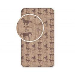 Lepedő lovas gumis pamut 90 x 200 cm